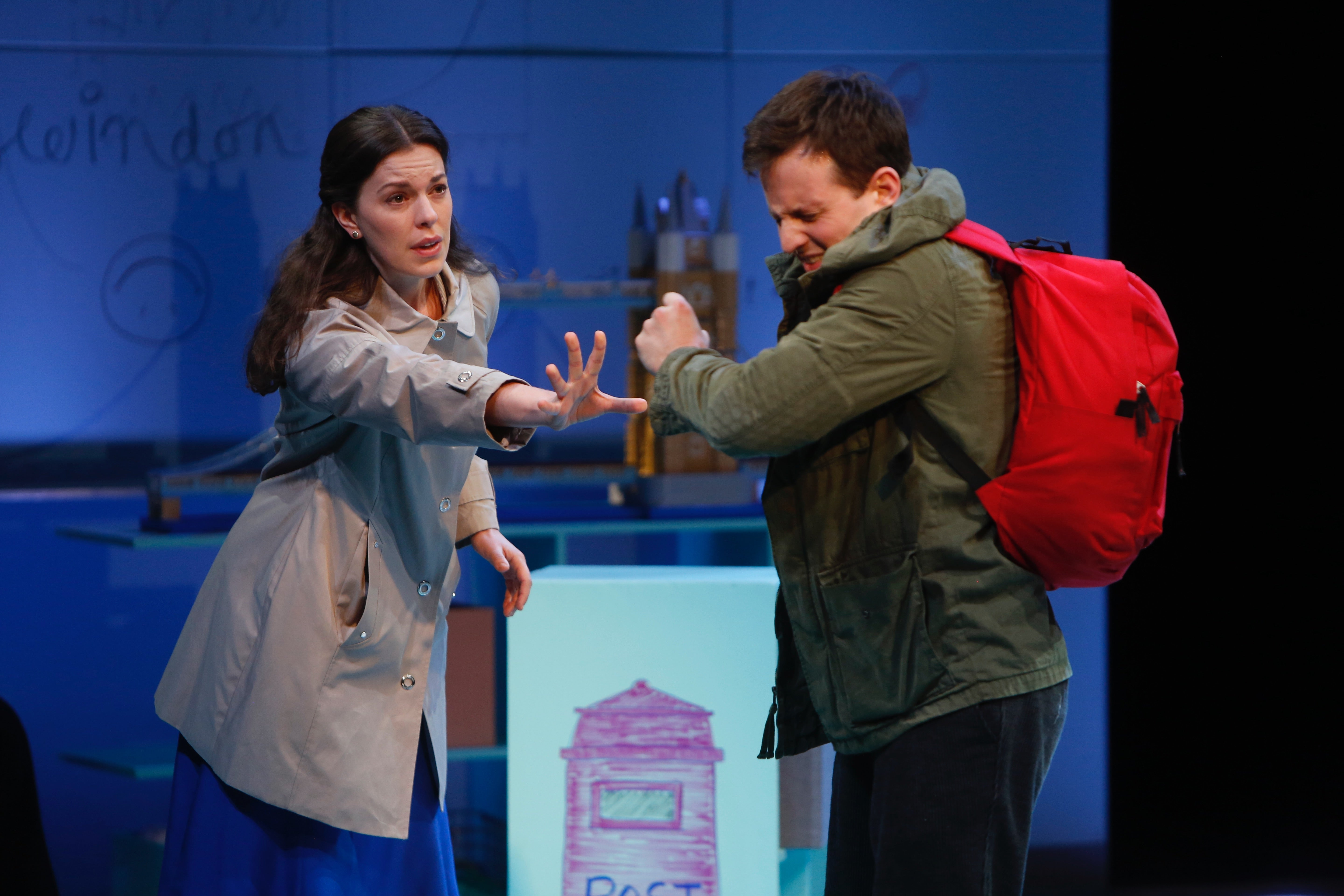 The Curious Incident Of The Dog In The Nighttime  Repertory  Amy Blackman And Nick Lamedica Photo By Jerry Naunheim Jr Reviews For Custom Writing Website also Illustration Essay Example Papers  Science Argumentative Essay Topics