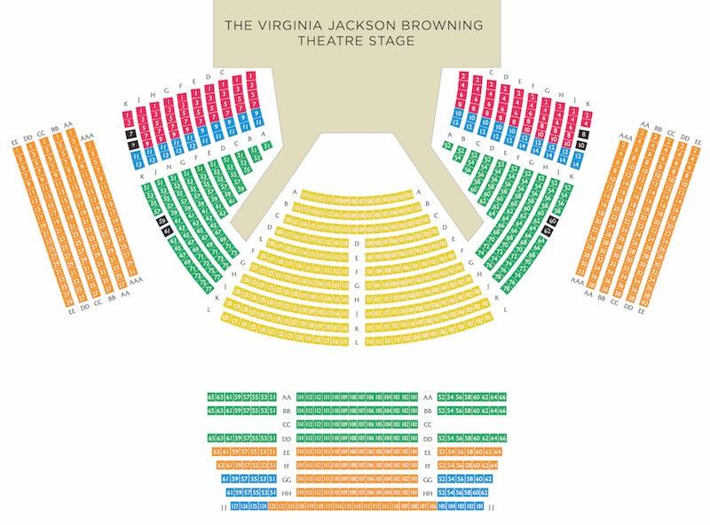 Rep seating chart