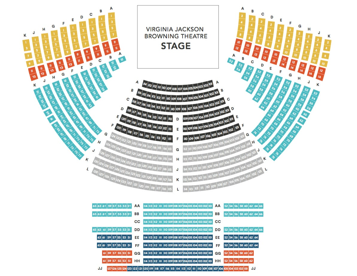 Rep seating chart